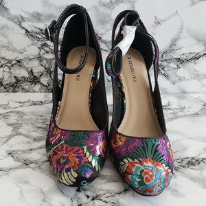 Dark & Colorful Heels